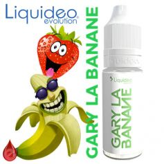 LIQUIDEO GARY LA BANANE (fraise banane) LIQUIDEO 10ml