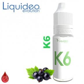 K6 (cassis) LIQUIDEO e-liquide 10ml