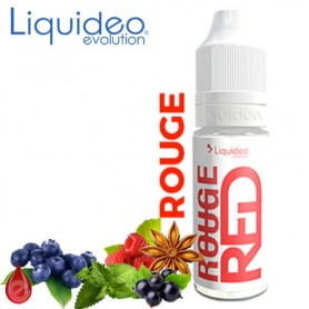 ROUGE LIQUIDEO e-liquide 10ml
