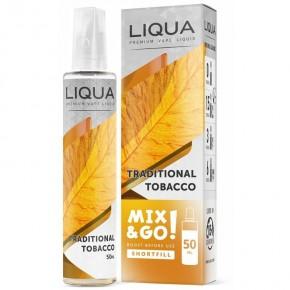 TBC TRADITIONNEL - LIQUA Mix & Go - e-liquide 50ml