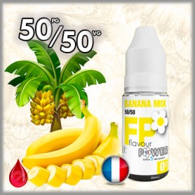 50/50 BANANA MIX - Flavour POWER - e-liquide 10ml