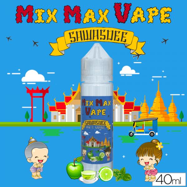 Mix Max Vape 40ml SAWASDEE - Mix Max Vape - e-liquide 40ml