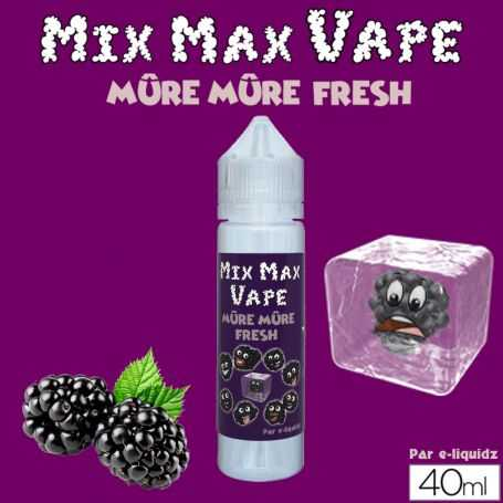 Mix Max Vape 40ml MURE MURE - Mix Max Vape - e-liquide 40ml