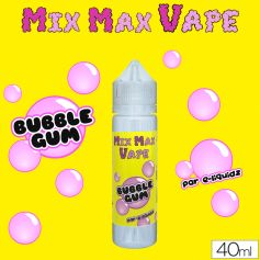 Mix Max Vape 40ml BUBBLE GUM - Mix Max Vape - e-liquide 40ml