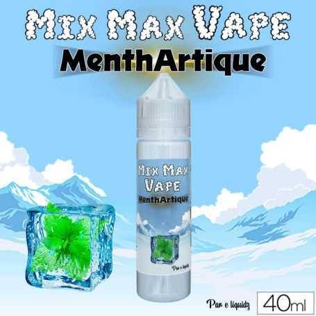 Mix Max Vape 40ml MENTHARTIQUE - Mix Max Vape - e-liquide 40ml