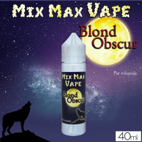 BLOND OBSCUR - Mix Max Vape - e-liquide 40ml