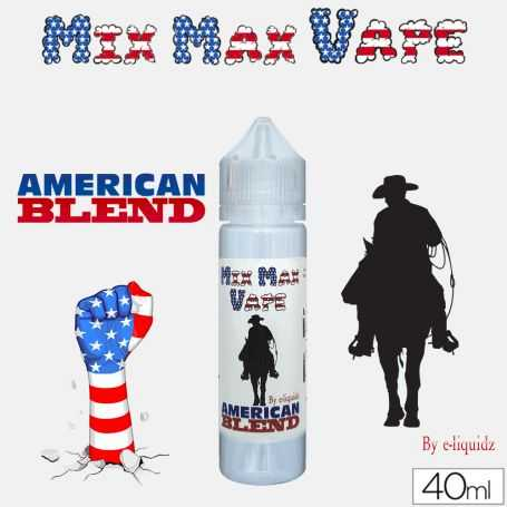 Mix Max Vape 40ml AMERICAN BLEND - Mix Max Vape - e-liquide 40ml