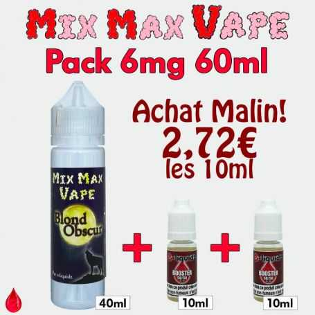 PACKS Pack 6mg 60ml Mix Max Vape