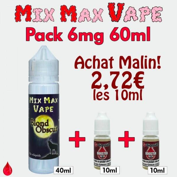 PACKS Pack 6mg 60ml Mix Max Vape
