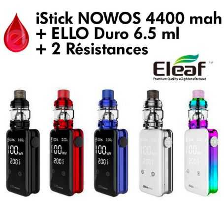 Eleaf - KIT NOWOS 4400 mah + ELLO Duro 6.5 ml