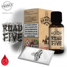 ROAD FIVE - BEN NORTHON e-liquide 10ml