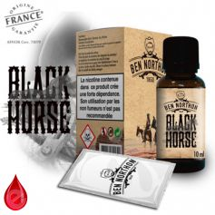 BLACK HORSE - BEN NORTHON e-liquide 10ml
