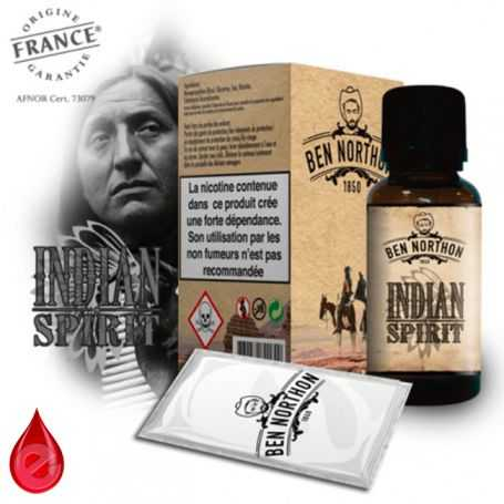INDIAN SPIRIT - BEN NORTHON e-liquide 10ml
