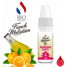 FRENCH MALAISIEN MANDARIN SUBTIL - French MALAISIEN e-liquide 10ml