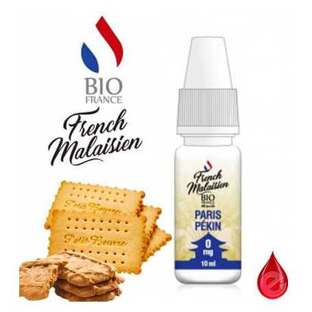 PARIS PEKIN - French MALAISIEN e-liquide 10ml