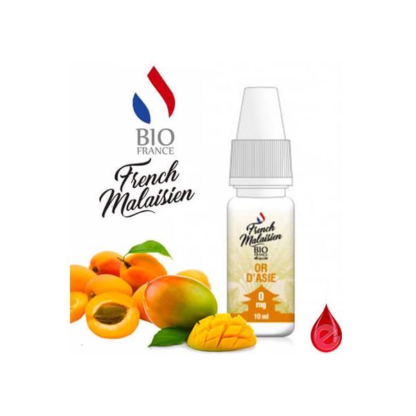 FRENCH MALAISIEN OR D'ASIE - French MALAISIEN e-liquide 10ml