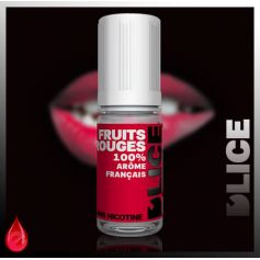 E-LIQUIDES Destockage FRUITS ROUGES - D'lice - DESTOCKAGE DLUO