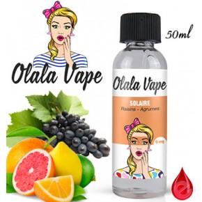 SOLAIRE - OLALA VAPE - e-liquide 50ml