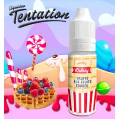 TENTATION par Liquideo GAUFRE FRUITS ROUGES - LIQUIDEO TENTATION