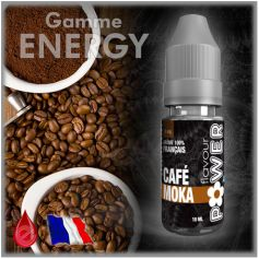 E-LIQUIDES Destockage MOKA CAFE - Flavour POWER - DESTOCKAGE DLUO