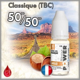 50/50 AKKAD - Flavour POWER - e-liquide 10ml FLAVOUR POWER