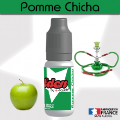 E-LIQUIDES Destockage POMME CHICHA ★ EDEN by e-liquidz DESTOCKAGE DLUO