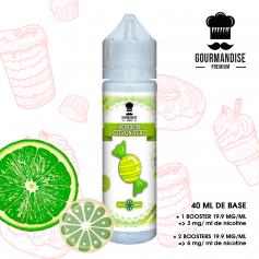 BONBON CITRON VERT - GOURMANDISE PREMIUM - e-liquide 40ml