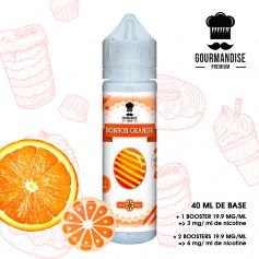 BONBON ORANGE - GOURMANDISE PREMIUM - e-liquide 40ml