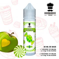 GOURMANDISE PREMIUM 40ml BONBON POMME VERTE - GOURMANDISE PREMIUM - e-liquide 40ml
