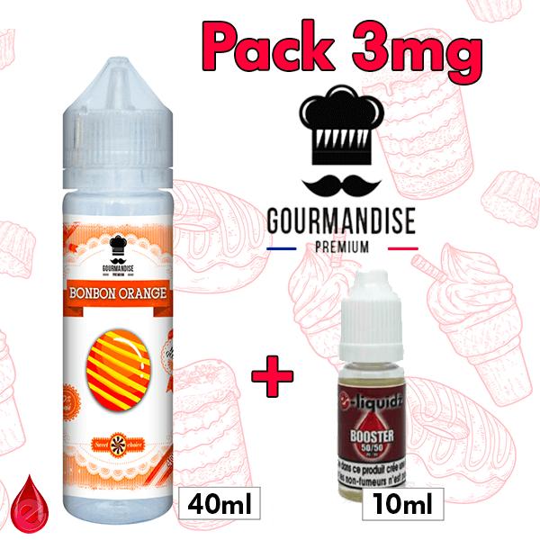 PACKS Pack 3mg 50ml GOURMANDISE PREMIUM