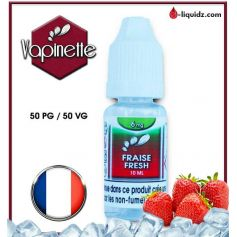 E-LIQUIDES Destockage FRAISE FRESH - VAPINETTE - DESTOCKAGE DLUO