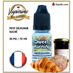 SWEET MORNING - VAPISSIMO - DESTOCKAGE DLUO
