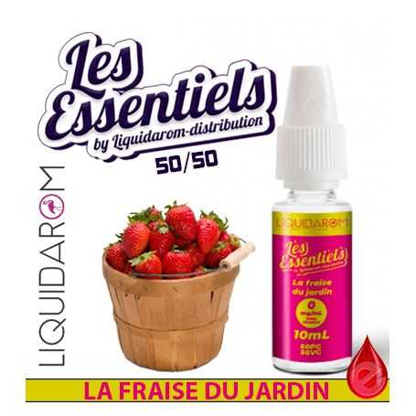 LA FRAISE DU JARDIN - LES ESSENTIELS LIQUIDAROM