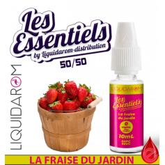 LES ESSENTIELS par Liquidarom LA FRAISE DU JARDIN - LES ESSENTIELS LIQUIDAROM