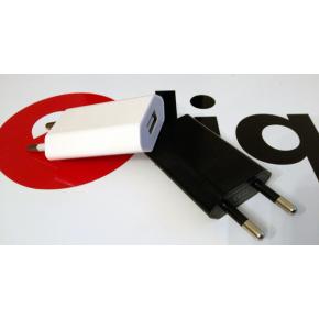 Adaptateur secteur USB plat type Iphone