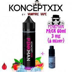 PACKS Pack 3mg 60ml PINKMAN