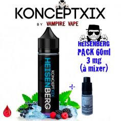 PACKS Pack 3mg 60ml HEISENBERG