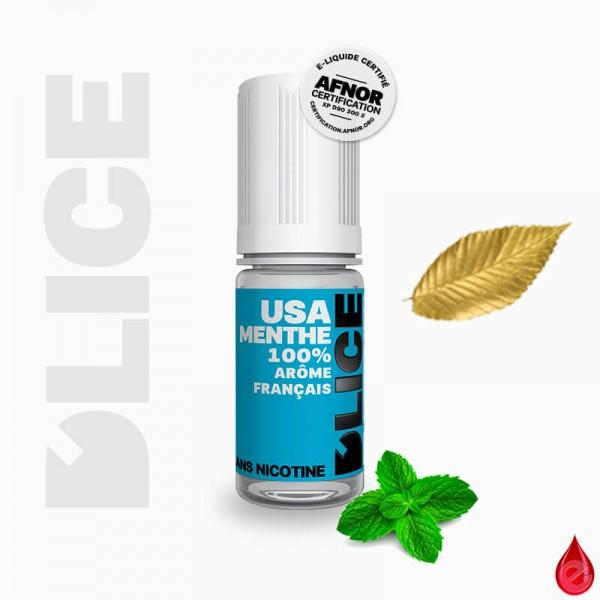 TBC USA MENTHE - D'lice - e-liquide 10ml