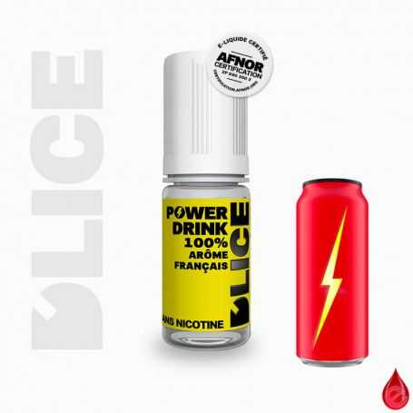 D'LICE POWER DRINK - D'lice - e-liquide 10ml