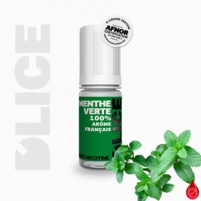 MENTHE VERTE - D'lice - e-liquide 10ml