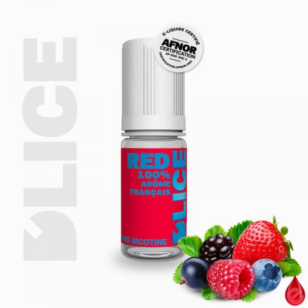 RED - D'lice - e-liquide 10ml