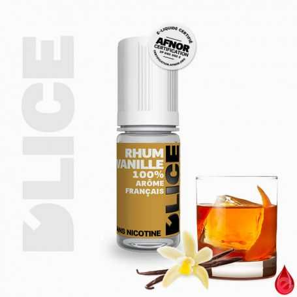 D'LICE RHUM VANILLE - D'lice - e-liquide 10ml