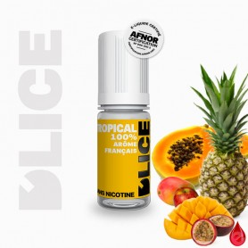 TROPICAL - D'lice - e-liquide 10ml