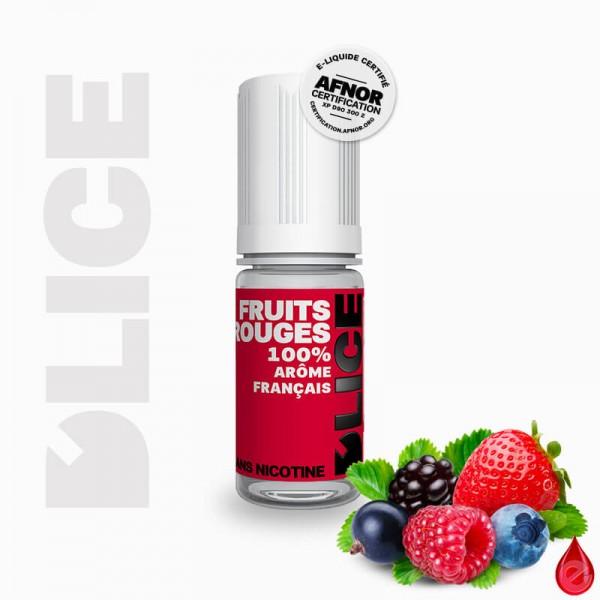 FRUITS ROUGES - D'lice - e-liquide 10ml