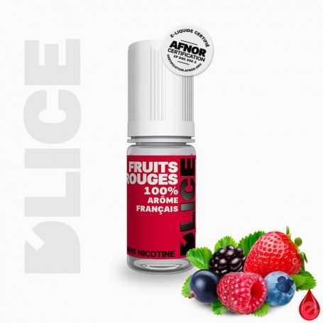 D'LICE FRUITS ROUGES - D'lice - e-liquide 10ml