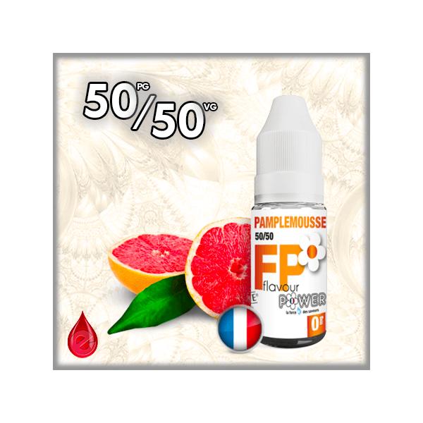 50/50 PAMPLEMOUSSE - Flavour POWER - e-liquide 10ml