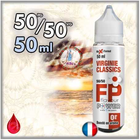 50/50 50ml 50ml 50/50 VIRGINIE CLASSICS - Flavour POWER