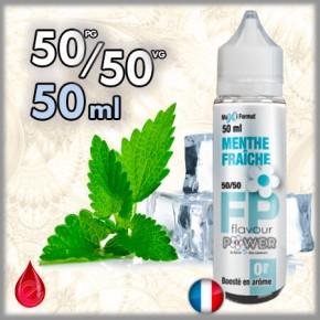 50ml 50/50 MENTHE FRAICHE - Flavour POWER