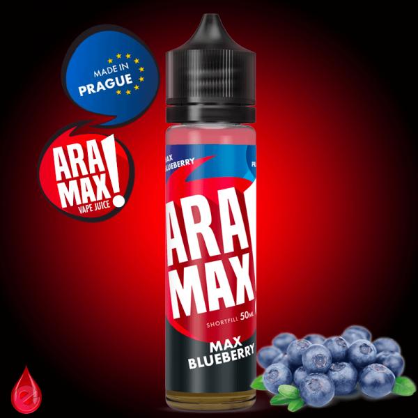 ARAMAX MAX BLUEBERRY (Myrtille) - ARAMAX - e-liquide 50ml