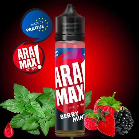 ARAMAX BERRY MINT (Fruits rouges menthe) - ARAMAX - e-liquide 50ml